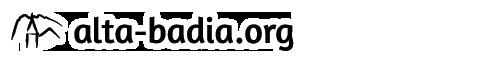 Logo alta-badia.org